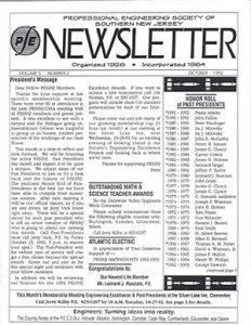 Engineering Society News
