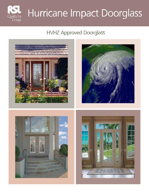 Hurricane Impact Doorglass