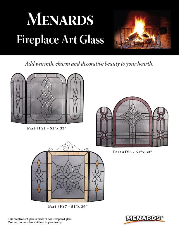 Menards Fireplace Glass