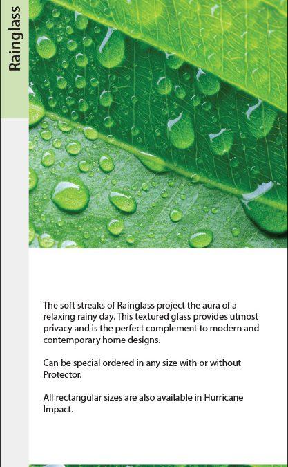 Rainglass Privacy Swatch Card