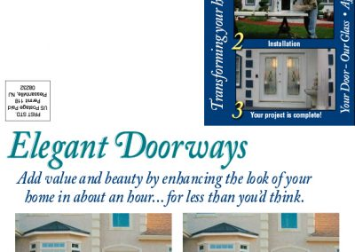 Elegant Doorways Mailer