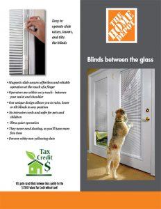 Home Depot – Blinds Between Glass