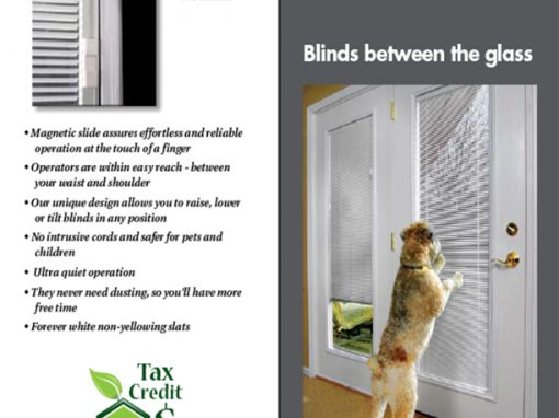 Home Depot – Blinds Between Glass