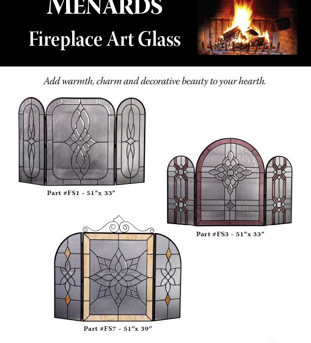 Menards Fireplace Glass