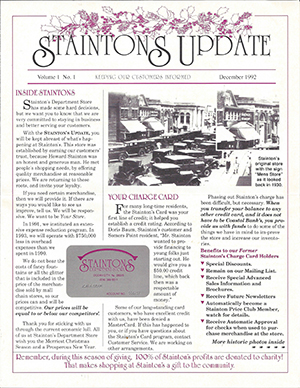 Stainton's Department Store