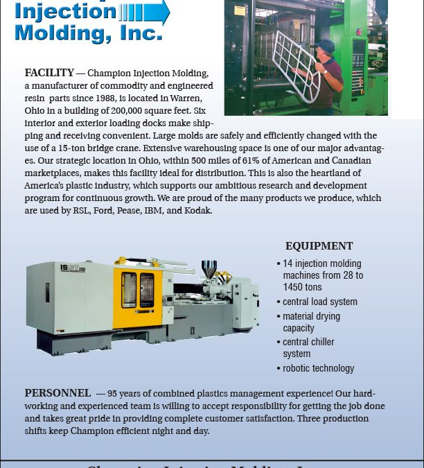 Champion Injection Molding